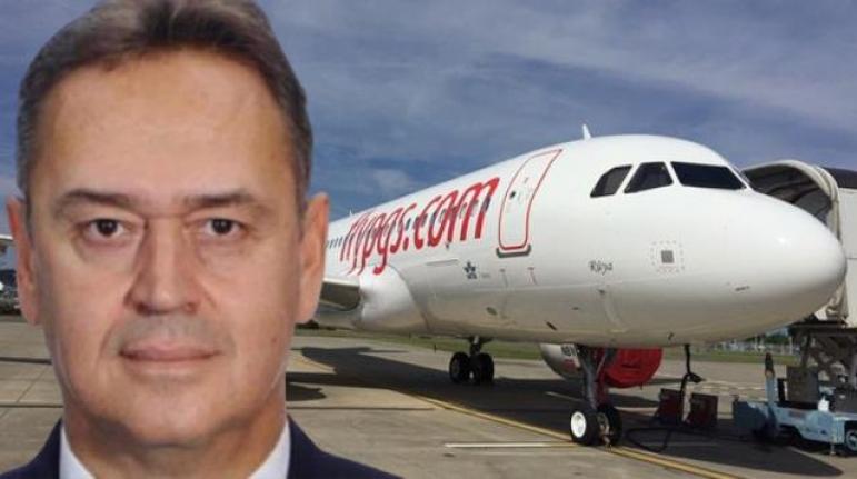 Pegasus'un Kaptan Pilotu Doğan Susin Milas Bodrum Havalimanı'nda Kalbine Yenik Düştü