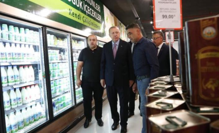 Cumhurbaşkanı Erdoğan'ın Alışverişindeki 2 Yıllık Zam Farkı!