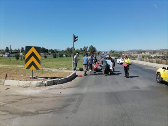 Fethiye'de Çarpışan İki Motosikletin Sürücüleri Yaralandı