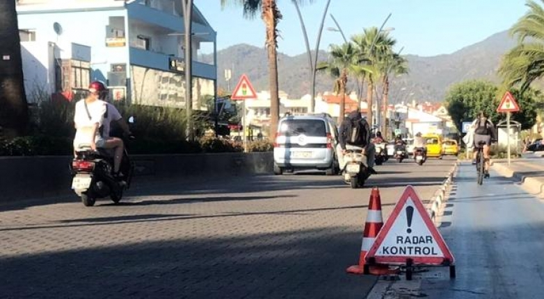 Marmaris'te Trafik Denetimleri Arttırıldı