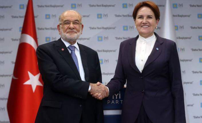 Meral Akşener ve Temel Karamollaoğlu Görüştü!