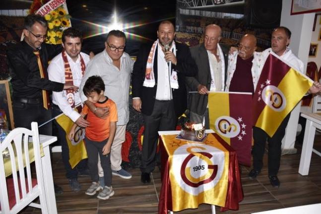 Bodrum'da Galatasaray'ın 116. Kuruluş Yıl Dönümü Kutlandı