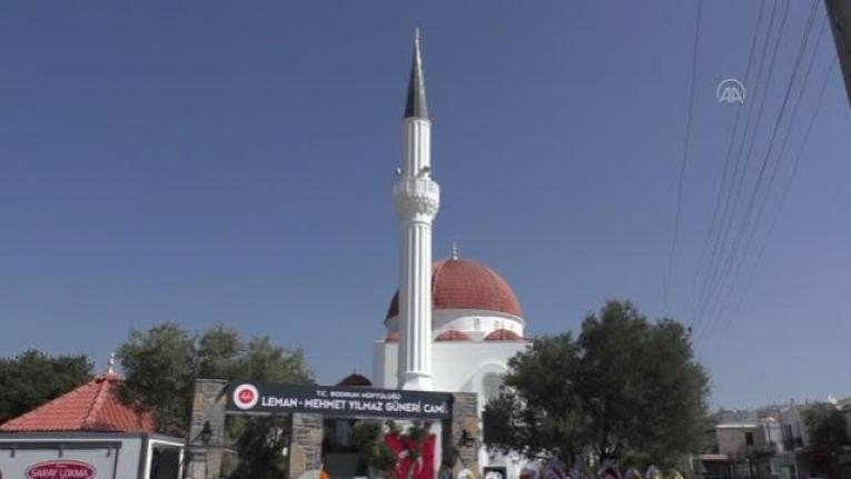 Bodrum'daki Hayırsever Eşinin Vasiyeti Üzerine Cami Yaptırdı