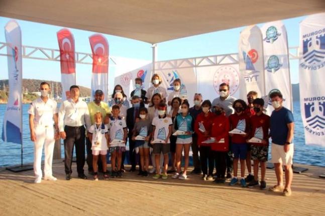 Bodrum'daki TYF 2021 Optimist Türkiye Şampiyonası Sona Erdi