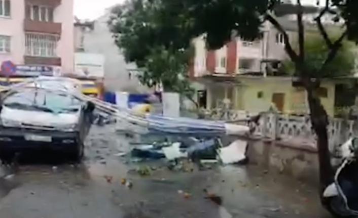 Bodrum'da Fırtına Yaşamı Olumsuz Etkiledi