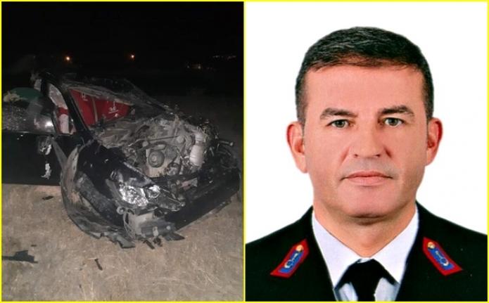 Jandarma Karakol Komutanı, Aydın'da Geçirdiği Trafik Kazasında Hayatını Kaybetti