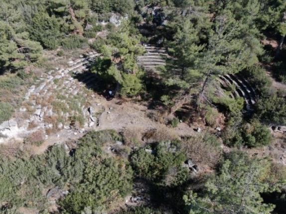 Kavaklıdere'deki Hyllarima Antik Kenti'nde Kazı ve Temizlik Çalışmaları Başladı