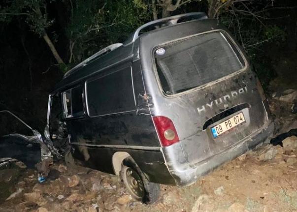 Menteşe'de Uçuruma Yuvarlanan Aracın Şoföründen Acı Haber