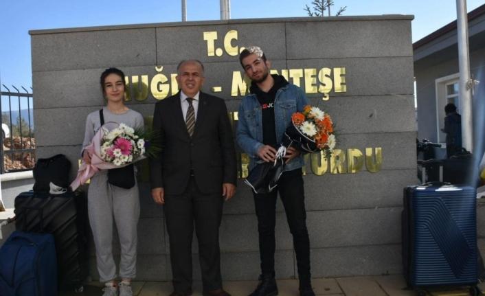 Muğla'da 2 Bin 24 Kişilik Öğrenci Yurdu Açıldı