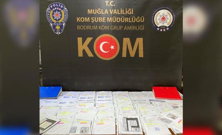 Muğla'da 'Çekirge' Operasyonunda 5 Şüpheli Gözaltında