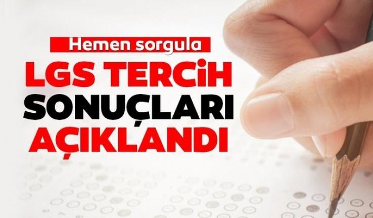 LGS'DE BİRİNCİ YERLEŞTİRME SONUÇLARI AÇIKLANDI