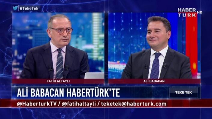 Ali Babacan Suskunluğunu Bozdu!