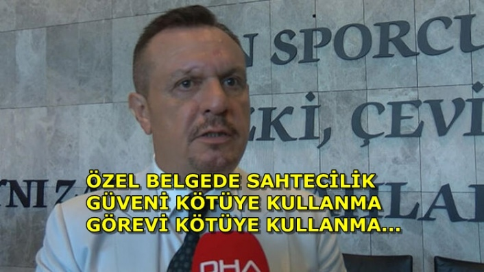 Denizlispor'da Ali Çetin'e Temlik Davası! 100 Milyon TL