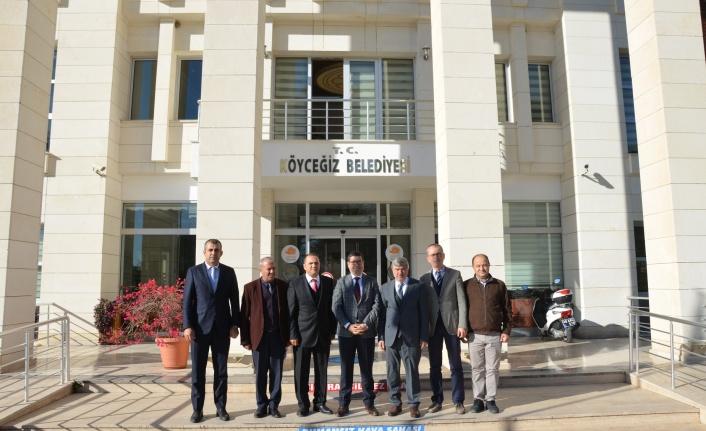 Barış Saylak'tan Köyceğiz Belediye Başkanı Ceylan'a Ziyaret
