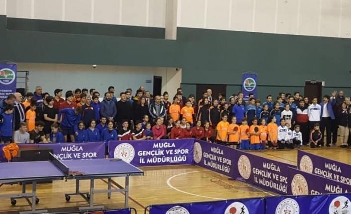Ege Bölgesi Gençler Takım Yarışmaları Yapıldı
