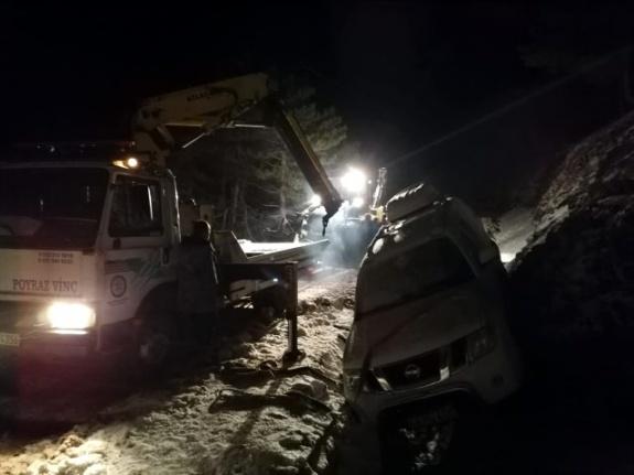 Köyceğiz'de Kar Yağışı Ağla Yaylası'nda Mahsur Bıraktı!