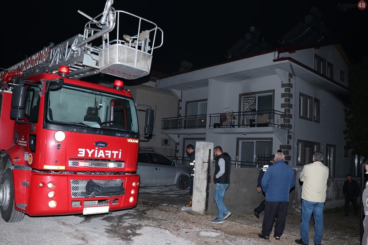 Fethiye'de evde çıkan yangında bir çocuk yaralandı