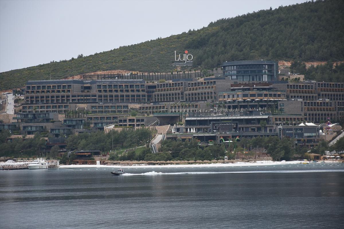 SEÇİMİ KAZANDI, BODRUM'A TATİLE GELDİ