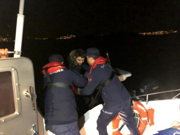 Bodrum'da Suriye ve Filistin Uyruklu Göçmenler Yakalandı!