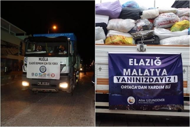 CHP'nin Yok Saydığı Ortaca ve Dalaman'dan Yardım Yağdı!