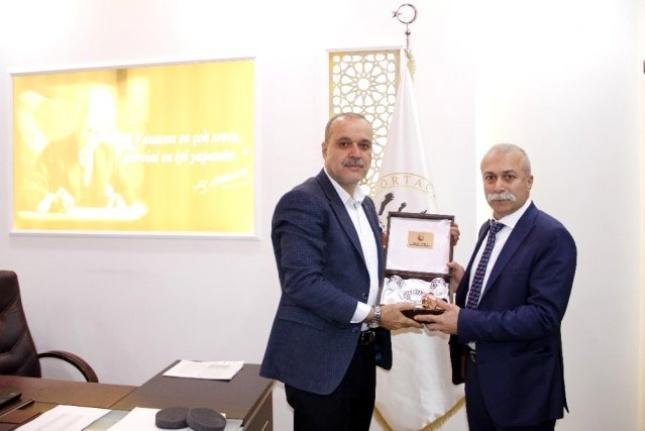 İl Emniyet Müdürü Dilberoğlu'ndan Başkan Uzundemir'e Ziyaret