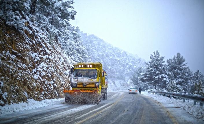 Muğla Büyükşehir Belediyesi'nin Kar Mesaisi Devam Ediyor!
