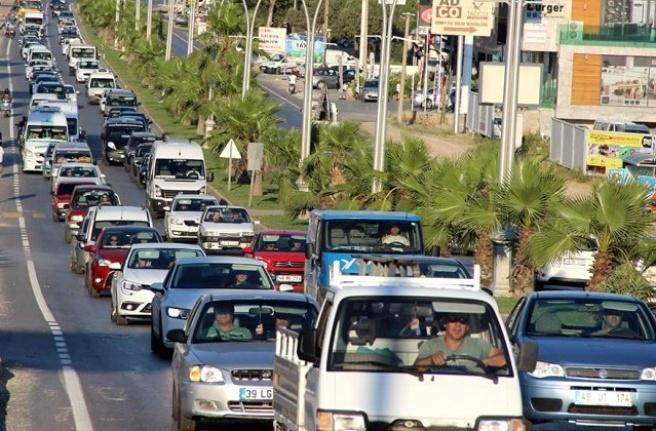 Muğla'da Araç Sayısı Yüzde 2.7 Arttı!