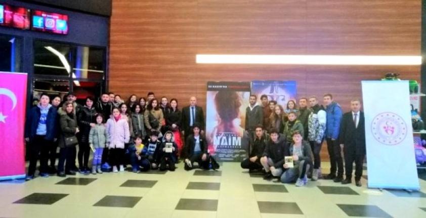 Muğla'da Sporcu ve Antrenörler Naim'i İzledi!