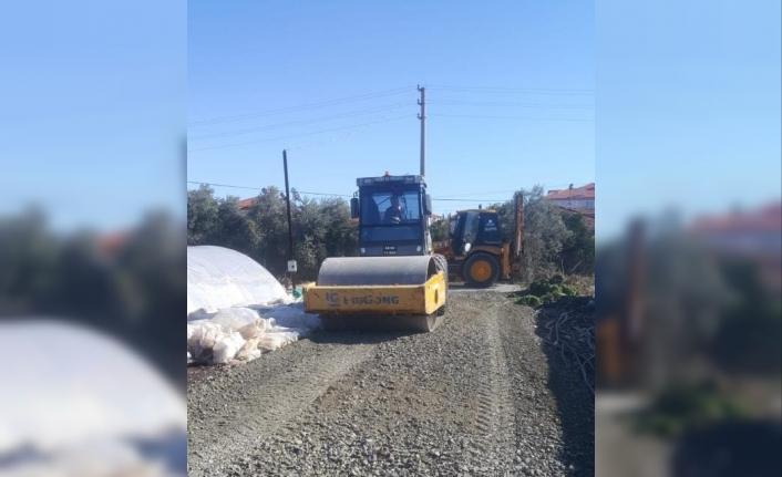 Ortaca Belediyesi Yol Düzenleme Çalışmaları Yapıyor