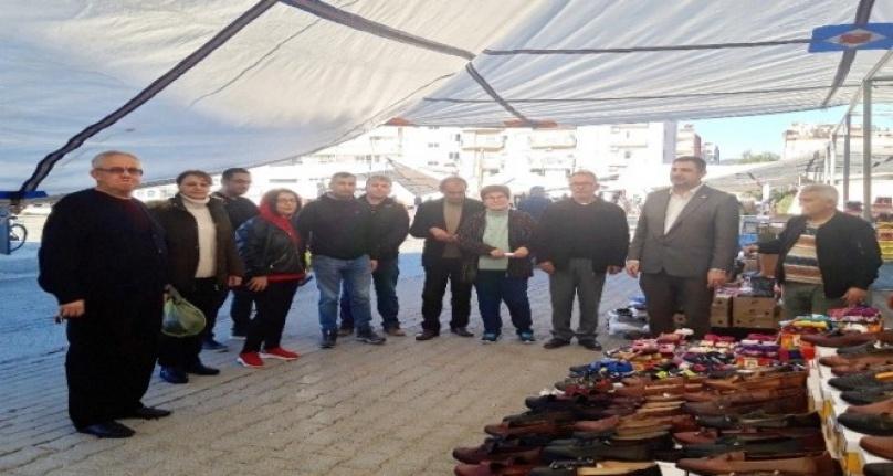 Ortaca CHP İlçe Başkanı Tezcan Ziyaretlerini Sürdürüyor
