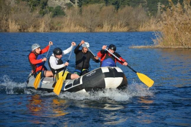 Rafting Milli Takımı Aday Kadrosu Dalyan'da Kampa Girdi!