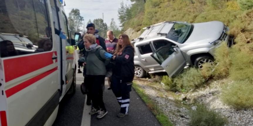 Ula'nın Kızılyaka Mahallesinde Trafik Kazası!