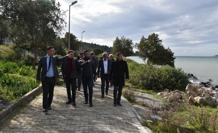 Başkan Tokat'tan Milas'ta Sahil Mahallelerine İnceleme!