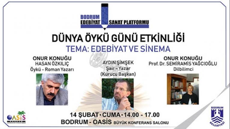 Bodrum'da Dünya Öykü Günü Etkinliği