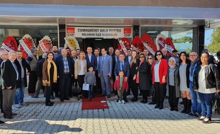 CHP Dalaman İlçe Başkanlığı Artık Yeni Binasında
