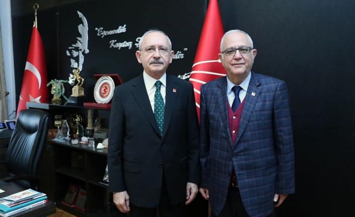 CHP Muğla İl Başkanı Zeybekoğlu Kılıçdaroğlu'nu Ziyaret Etti