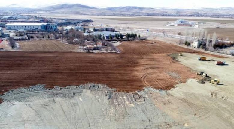 Elazığ'da Kurulacak Konteyner Kentin Çalışmaları Sürüyor