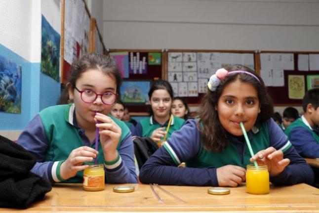Fethiye'de Öğrencilerden Anlamlı Proje