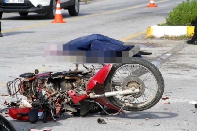 Fethiye'de Otomobille Motosiklet Çarpıştı: 1 Ölü