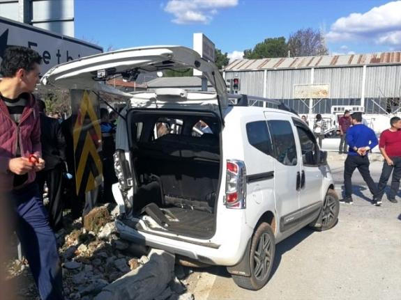 Fethiye'de Trafik Kazası: 1 Ölü 1 Yaralı!