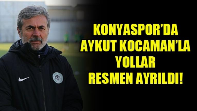 Konyaspor'da Aykut Kocaman ile Yollar Ayrıldı!