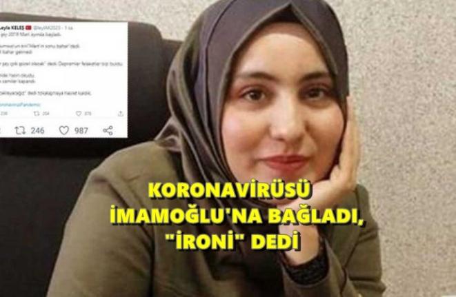 """AK Partili Meclis Üyesinden İlginç İmamoğlu """"İronisi"""""""
