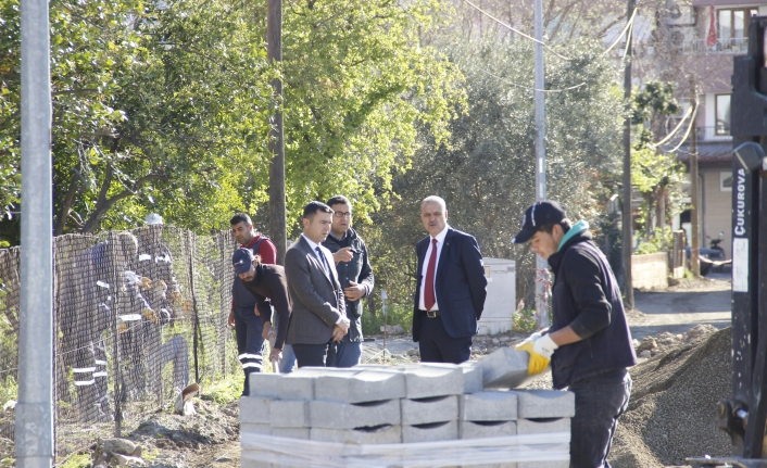 Alim Uzundemir Ortaca Belediyesi Çalışmalarını İnceledi