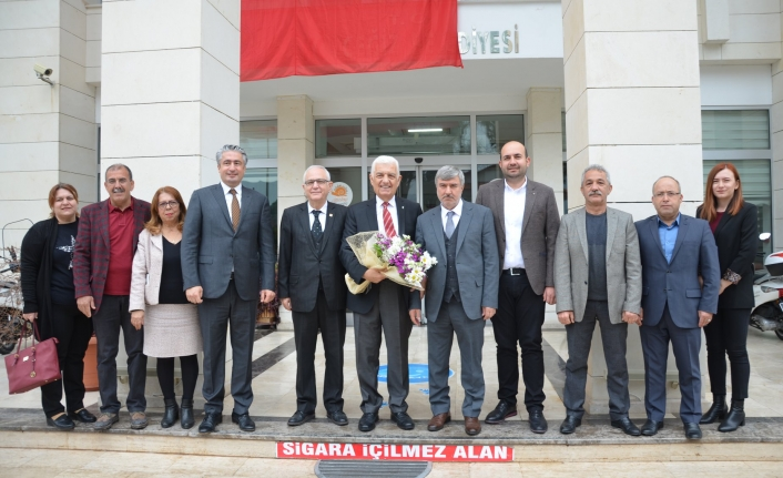 Başkan Gürün'den Kamil Ceylan'a Ziyaret