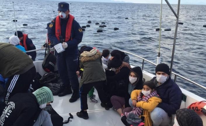 Bodrum'da 16 Kaçak Sığınmacı Yakalandı