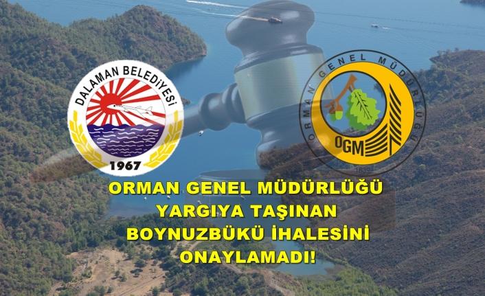 DALAMAN BELEDİYESİ'NİN BOYNUZBÜKÜ İHALESİNİ OGM ONAYLAMADI!
