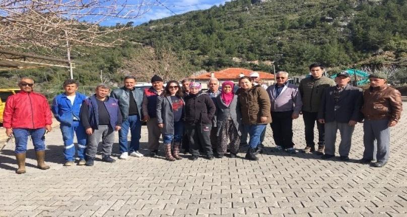 Dalaman'da İncir Yetiştiriciliği Kursu Açıldı