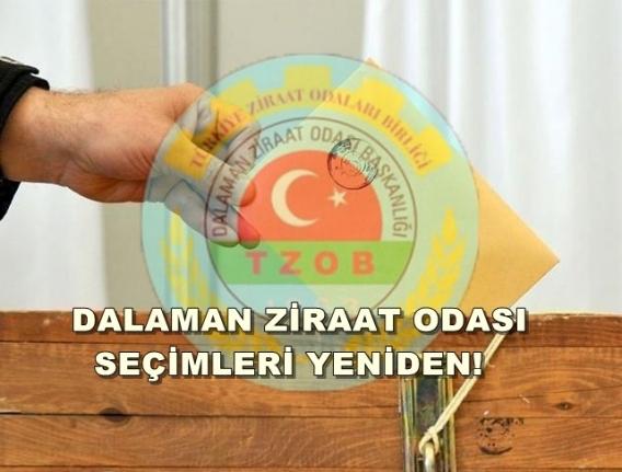 DALAMAN ZİRAAT ODASI DELEGE SEÇİMLERİ SİL BAŞTAN!