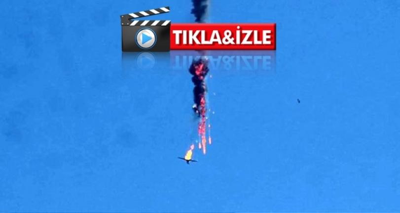 Esed Rejimine Ait Savaş Uçağı Düşürüldü!