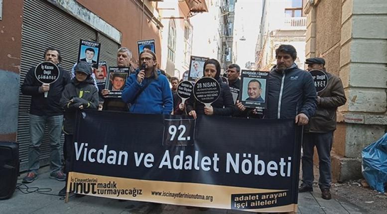 Güllük Akfen'de Hayatını Kaybeden İşçiler için Adalet Nöbeti!